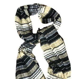 SCARF BY COLLECTION EIGHTEEN COSTA RICO STRIPE